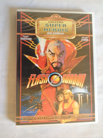 Dvd Flash Gordon - O Filme - Produto Original