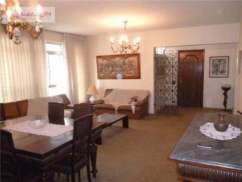 Apartamento Com 3 Dormitórios À Venda, 134 M² Por R$ 950.000,00 - Higienópolis - São Paulo/sp - Ap0255