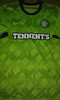 Camisa Celtic Escócia Away Conservação 10/10