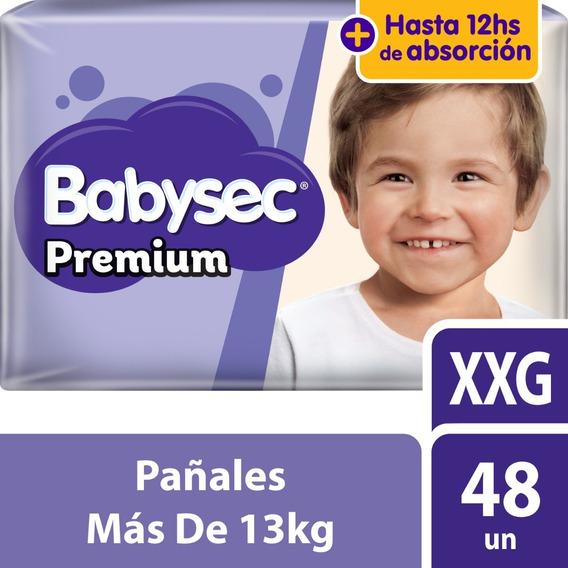 Pañal Babysec Premium Xxg X48