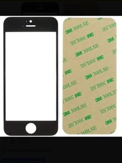 Tela Vidro iPhone 5/5c/5s Preto