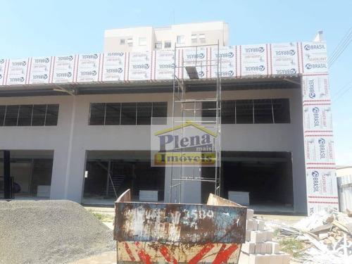 Salão Para Alugar, 95 M² Por R$ 5.000/mês - Jardim Das Colinas - Hortolândia/sp - Sl1006