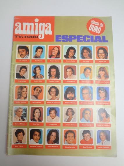 Revista Amiga Especial Album De Ouro 30 Posters