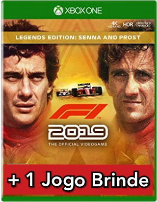 F1 2019 Legends Edition Senna & Prost Xbox One Mídia Digital