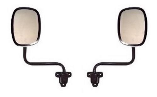 Imagem 1 de 3 de Espelho Retrovisor Bandeirante 03/1985 A 08/2001 (2 Peças)