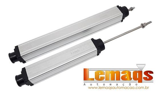 Régua Potenciométrica Transdutor Linear Posição Lwh 200mm
