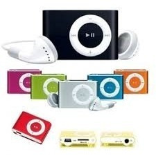 Mp4 Player / Mp3 Player + Cabo Usb + Fone Intra Auricular