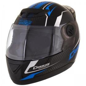 Capacete Moto Pro Tork 788 G5 Carbon Evo Preto/azul 60