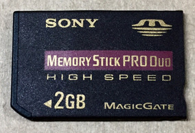 Memory Stick Produo 2 Gb