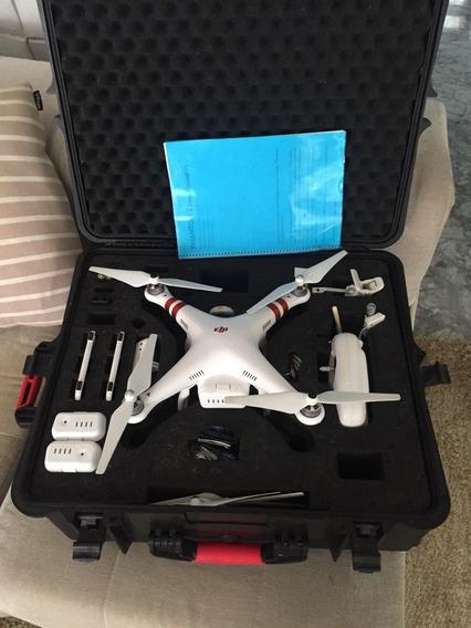 Drone Phantom 2 Com Case Rigido E Acessórios