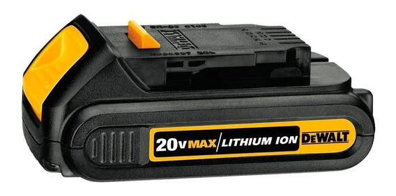Bateria 20 Volts 1,3 Ah Íons De Lítio - Dcb207-b3 - Dewalt