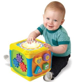 Juguete De Estimulacion Temprana Para Bebe Niños Nuevo 5en1