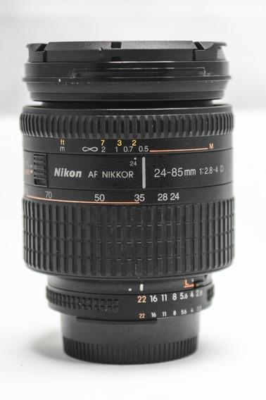 Nikon 24 85 2.8-4.0 Af D Perfeita