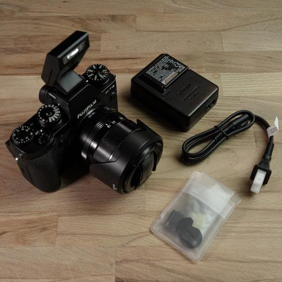 Kit Fujifilm Xt2 + Lente Xf 18-55mm F/2.8-4 R Lm Ois