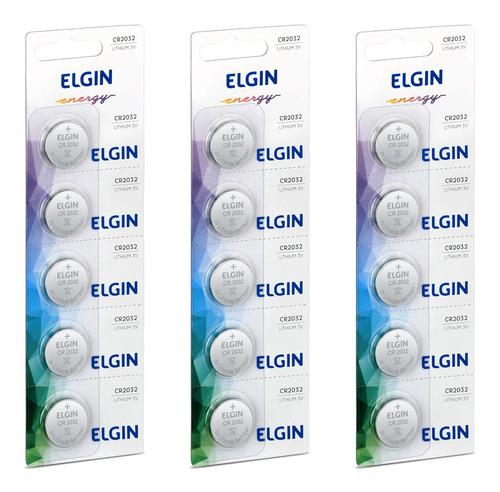 Imagem 1 de 7 de 15 Pilhas Bateria Cr2032 Elgin Controle Apple Hp12c Balança