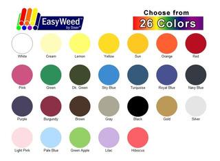 Vinil Textil Marca Siser Easyweed(38 X 100) Cm