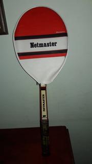 Antiga Raquete Tenis Madeira Netmaster