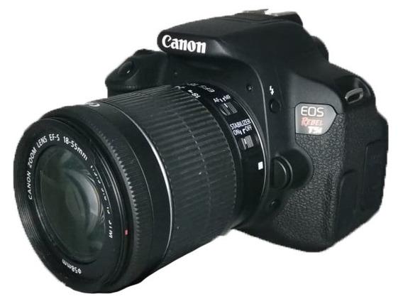 Câmera Canon T5i Seminova Envio Imediato Perfeita + Lente