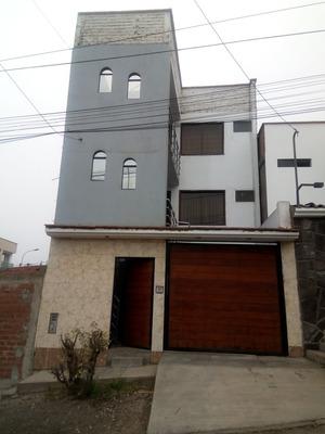 Remato Edificio Con 3 Departamentos Juntos En La Molina