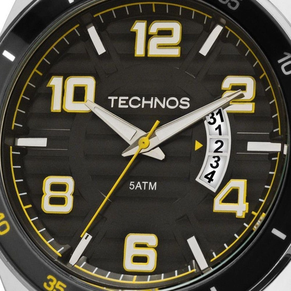 Relógio Masculino Technos Analógico 2115ksr/8y Lacrado + Nf