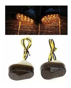 Lanterna Pisca Seta Led Fumê Zx6r Zx7r Zx9r Zx10 Z750 Versys