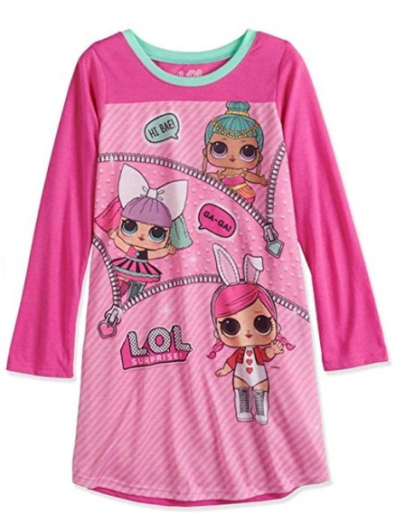 Lol Surprise Girls Pijama Camison Oferta¡¡