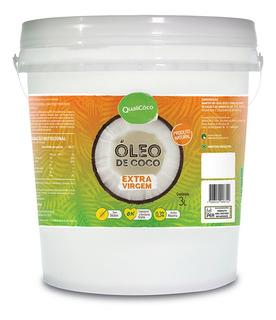 Óleo De Coco Extra Virgem Qualicoco 3 Litros