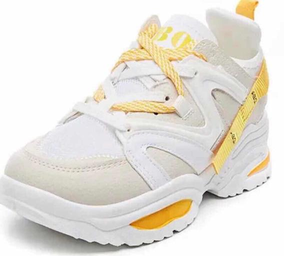 Tênis Chunky Dad Sneaker Sola Alta Abo/ Eaf Pro Pré - Venda
