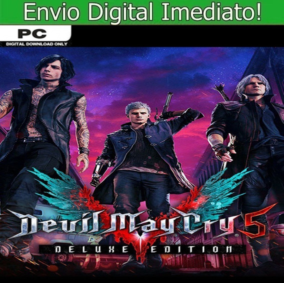 Devil May Cry 5 Pc Hd Envio Imediato!