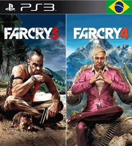 Far Cry 4 + Far Cry 3 Português Ps3 Psn