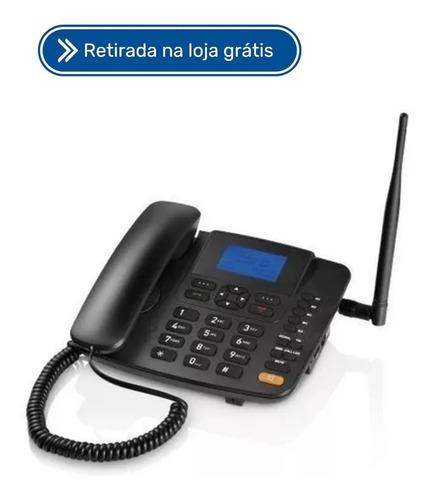 Imagem 1 de 3 de Telefone Rural Celular De Mesa Multilaser Quadriband Re502