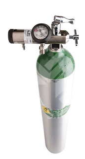 Tubo De Oxigeno Medicinal Transporte De 0,680 Lts.