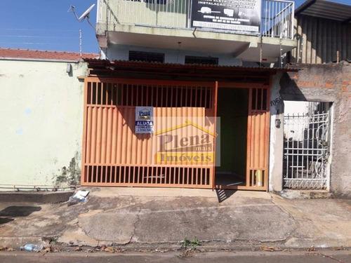 Salão Para Alugar Com 1 Sala E 48 M² - Jardim Santana - Hortolândia/sp - Sl0921