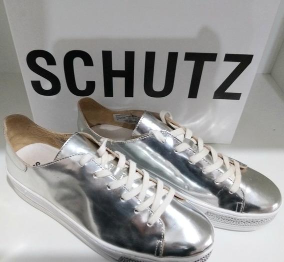 Tênis Schutz Prata Promo. Tenis Schutz Original