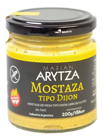 Mostaza Gourmet Arytza Tipo Dijón - 100% Natural - Sin Tacc