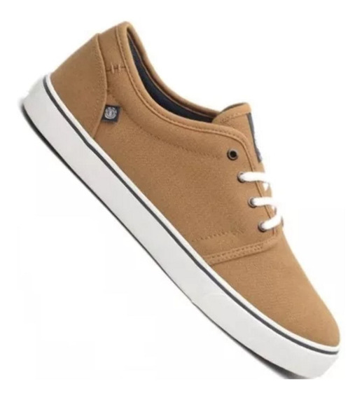 Zapatillas Element Darwin Canvas Importada Breen Marron