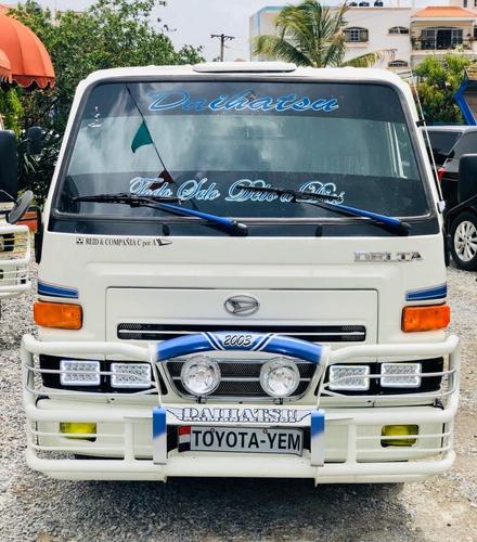 Super Oferta Camion Daihatsu Delta 2003 Cama Corta En Chasis