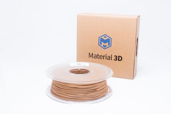 Filamento Tpu + Madeira 1.75mm Mix Madeira 800g Material 3d