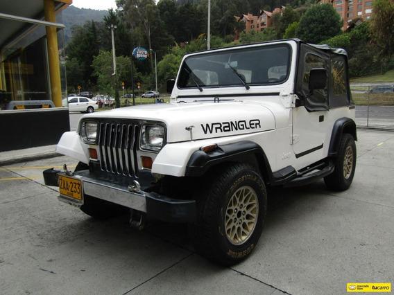 Jeep Wrangler Mt 2500cc