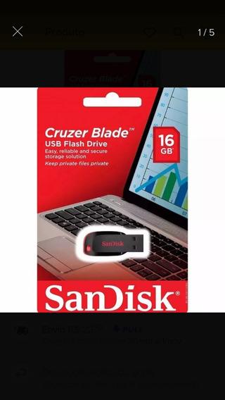 Pen Drive Sandisk 16 Gb 10 Peças Atacado