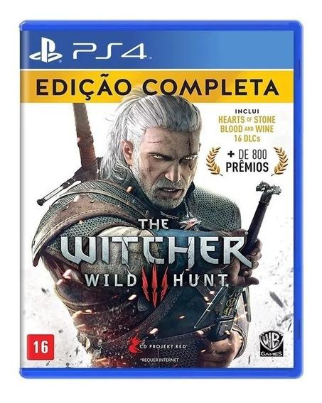 The Witcher 3 Wild Hunt Edição Completa Ps4 Lacrado Br-rj