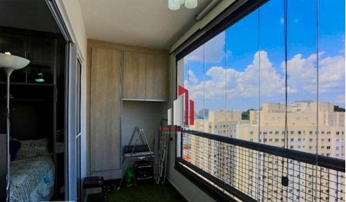 Imagem 1 de 19 de Apartamento Com 1 Dormitório À Venda, 36 M² Por R$ 350.000,90 - Cambuci - São Paulo/sp - Ap0762