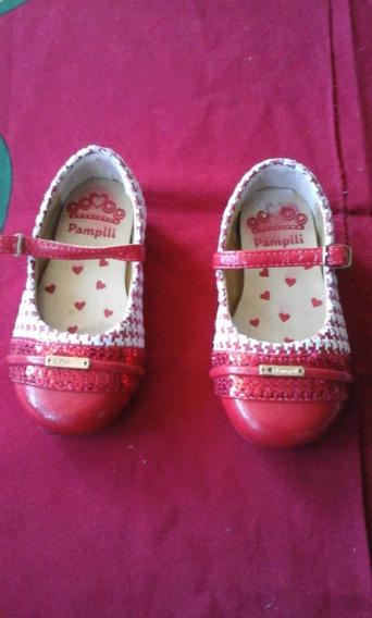 Zapatos De Niña Talla 26 Usados. 5 Verds