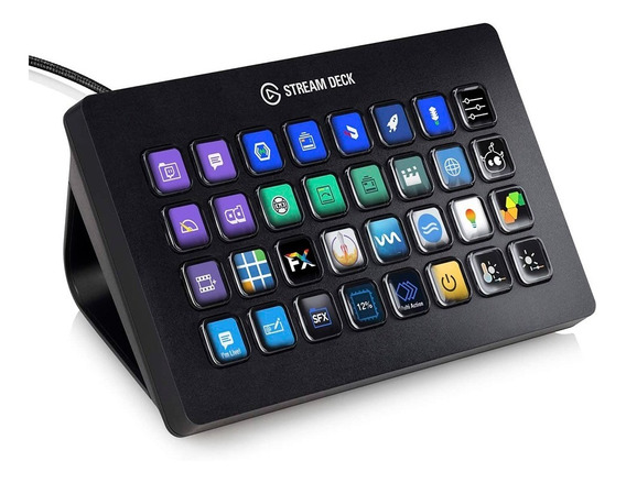 Stream Deck Xl Elgato 32 Botones Lcd Customizables Streaming