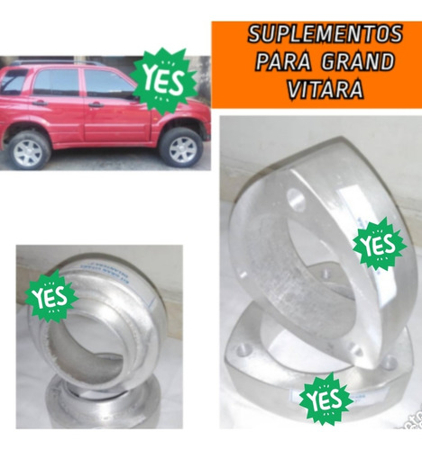 Copas, Suplementos Tacos Chevrolet Grand Vitara 02-07 De 2