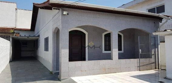 Terreno Com 300m² - Casa Com 163m² Área Útil - 3 Dormitórios (2 Suítes) - Garagem Para 5 Carros - Churrasqueira - Documentação Ok - Ca0187