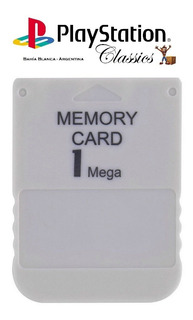 Memory Card 1mb - Play Station 1 - Ps One