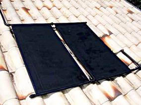 5 Placas Coletor Aquecedor Solar + C/ Manual / Menor Frete