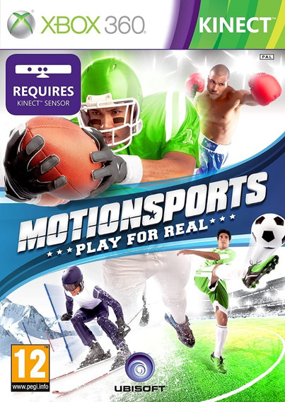 Motion Sports Play For Real Xbox 360 Física Usado Madgames