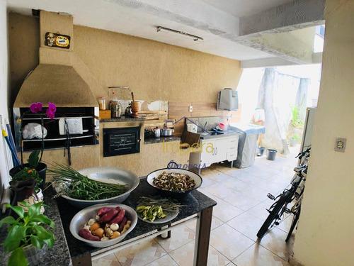 Casa Com 4 Dormitórios À Venda, 150 M² Por R$ 530.000,00 - Monte Castelo - São José Dos Campos/sp - Ca0167